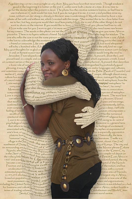 Embraced by words, by Robbert van der Steeg